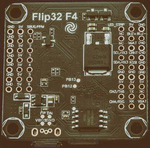 AIRBOTF4 Полетный контролер Flip32 процессор F405