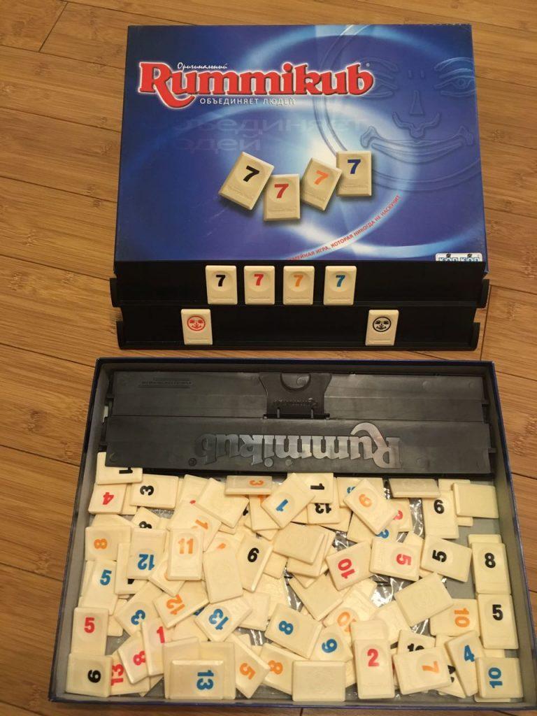 Руммикуб игра настольные игры