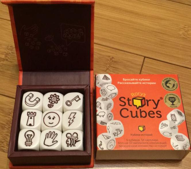 Story cubes история по кубикам настольные игры